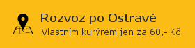 Rozvoz po Ostravě