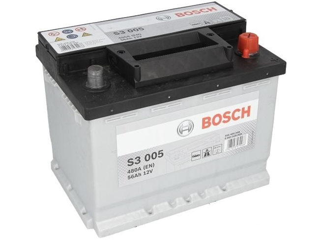 AUTOBATERIE BOSCH S3 12V 56AH 480A 0 092 S30 050