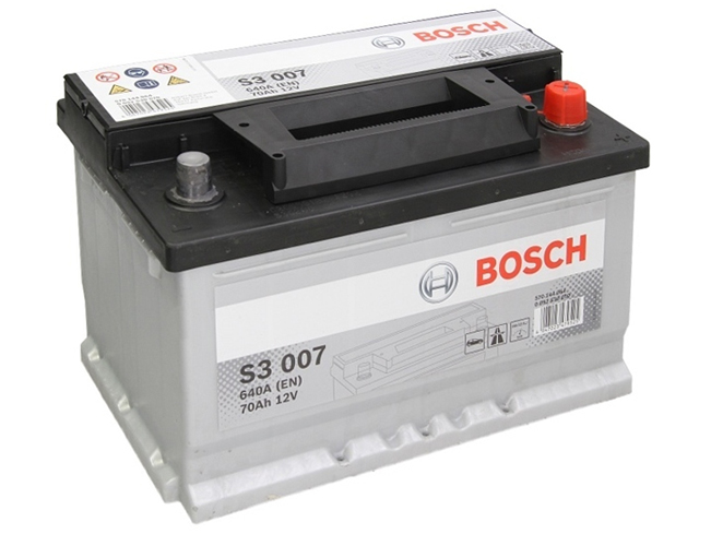 AUTOBATERIE BOSCH S3 12V 70AH 640A 0 092 S30 070
