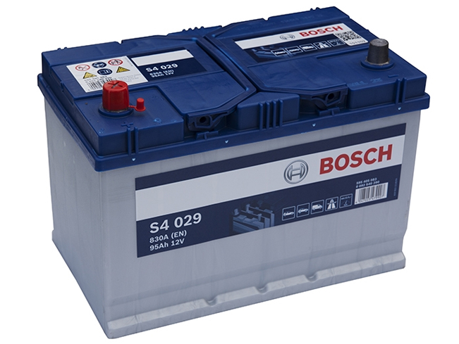 AUTOBATERIE BOSCH S4 12V 95AH 830A 0 092 S40 290