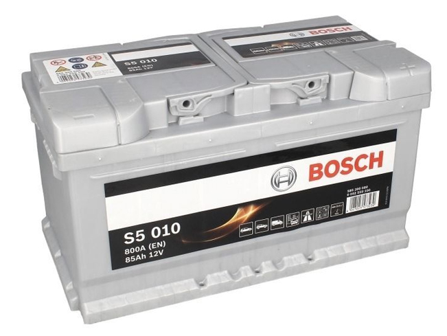 AUTOBATERIE BOSCH S5 12V 85AH 800A 0 092 S50 100