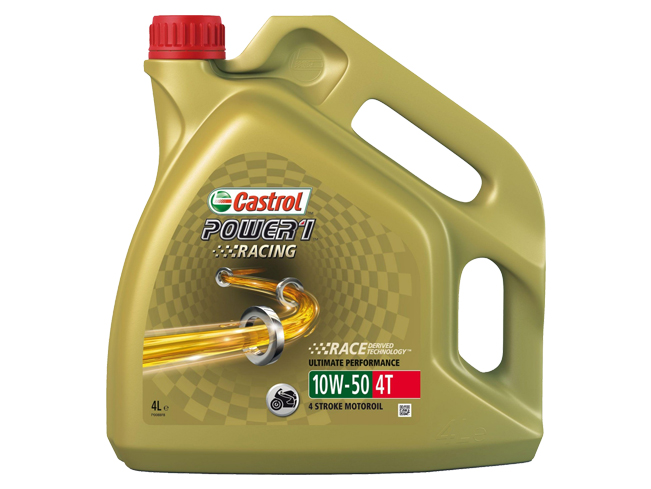OLEJ CASTROL POWER 1 RACING 4T 10W-50 4L