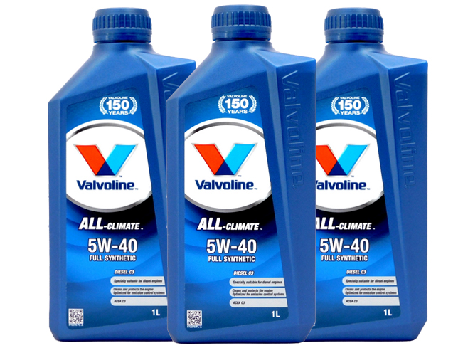 Valvoline All Climate Diesel C3 5W-40 1 l