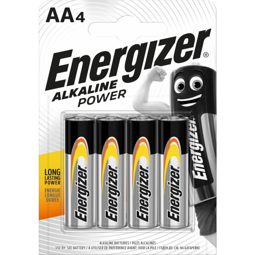 Energizer Alkaline Power AA LR6 4 ks
