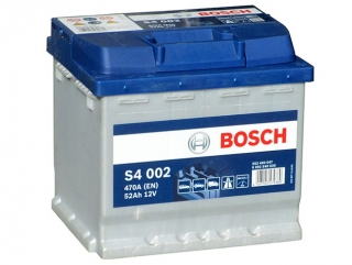AUTOBATERIE BOSCH S4 12V 52AH 470A 0 092 S40 020
