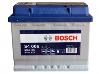 AUTOBATERIE BOSCH S4 12V 60AH 540A 0 092 S40 060