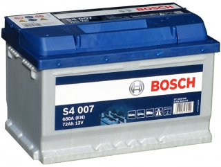 AUTOBATERIE BOSCH S4 12V 72AH 680A 0 092 S40 070
