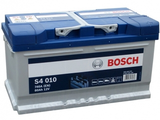 AUTOBATERIE BOSCH S4 12V 80AH 740A 0 092 S40 100