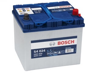 AUTOBATERIE BOSCH S4 12V 60AH 540A 0 092 S40 240