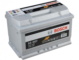 AUTOBATERIE BOSCH S5 12V 74AH 750A 0 092 S50 070