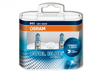 OSRAM COOL BLUE INTENSE H1 64150CBI