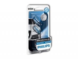 Philips WhiteVision 12961NBVB2 W5W W2,1x9,5d 12V 5W