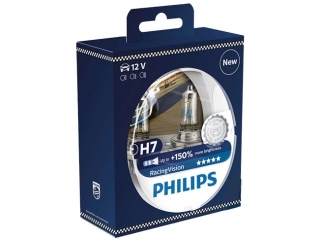 PHILIPS H7 RACING VISION 12972RVS2 12V-55W