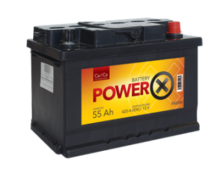 POWERX NEW 12V/55 AH CA/CA