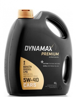 Dynamax Premium Ultra Plus PD 5W-40 4 l