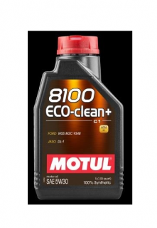 Motul 8100 Eco-clean+ C1 5W-30 1 l