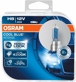 Osram Cool Blue Intense H8 PGJ19-1 12V 35W