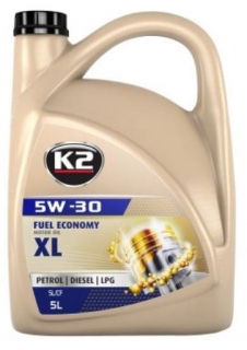 K2 TEXAR 5W-30 XL 5L