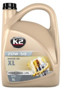 K2 TEXAR 20W-50 XL 5L