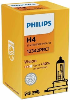 Philips Vision 12342PRC1 H4 P43t-38 12V 60/55W