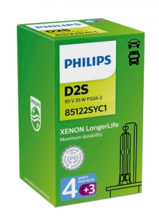 Philips Long Life 85122SYC1 D2S P32d-2 85V 35W